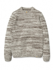 Carhartt WIP Jacky Strick Sweater (tobacco/snow)