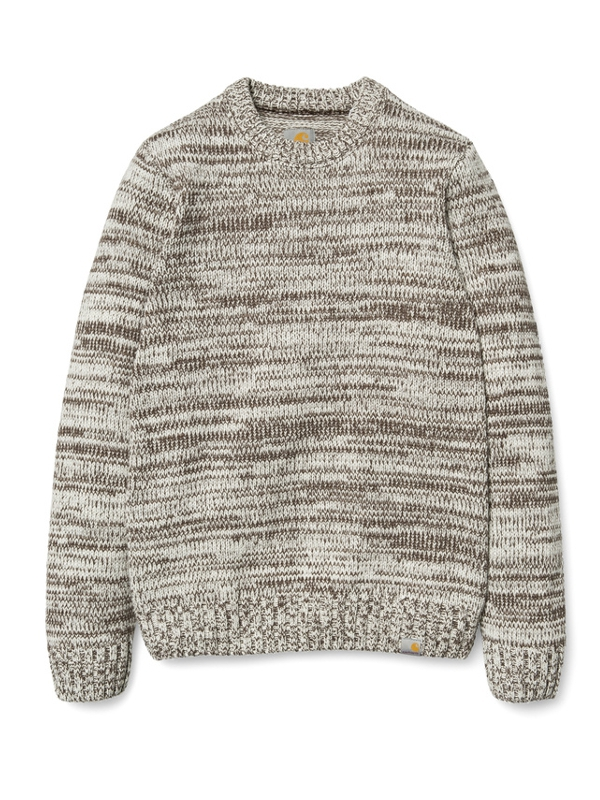Carhartt Jacky Strick Sweater (tobacco/snow)