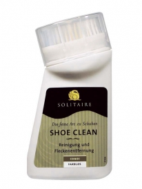 Solitaire Shoe Clean mit Bürste 75ml
