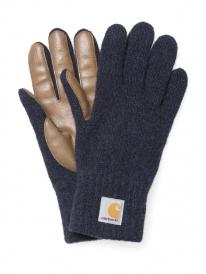 Carhartt Logg Handschuhe (navy heather/camel)