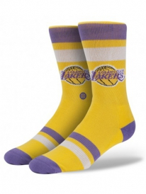 Stance Lakers Socken (yellow)