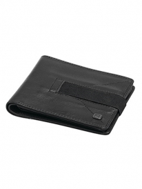 Reell Strap Leather Wallet (black)