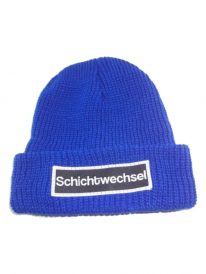 Schichtwechsel Strick Beanie (royal blue)