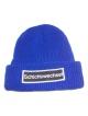 Schichtwechsel Strick Beanie (royal blue)