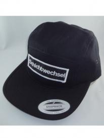 Schichtwechsel Logo 5-Panel Cap (black)