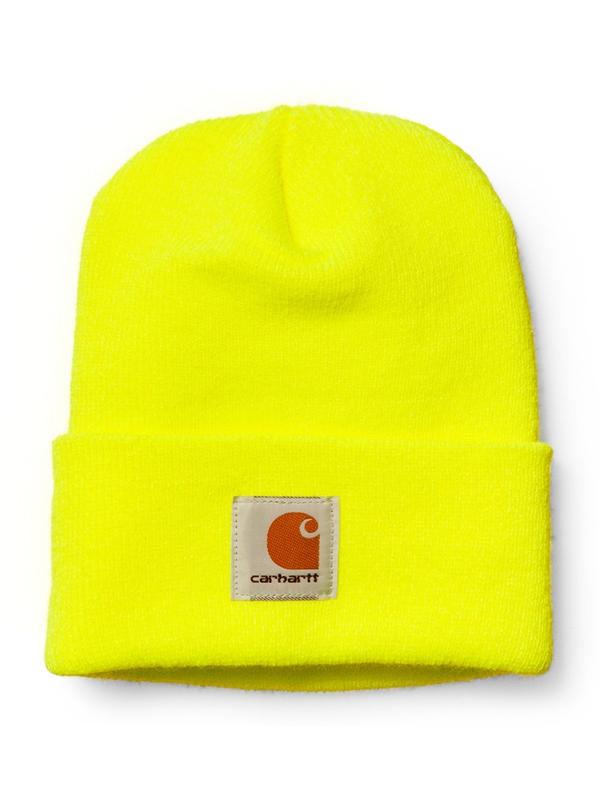 Carhartt WIP Acrylic Watch Hat Beanie (bright lime)
