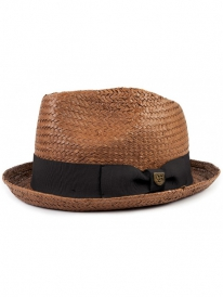 Brixton Castor Hat (brown/black)