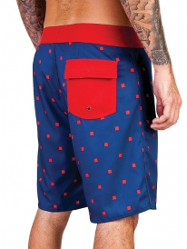 Brixton Generator Boardshort (navy/red)
