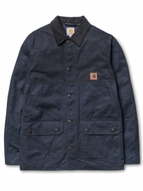 Carhartt WIP Clark Jacket (deep night/black rigid)