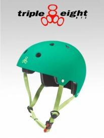 Triple Eight Brainsaver Helm kelly green (versch. Größen)