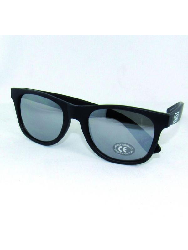 Vans Spicoli Sonnenbrille (black matte/silver mirror)