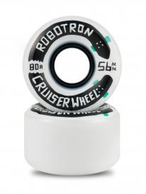 Robotron Cruiser Rollen 56mm 80a (white) 4er Satz