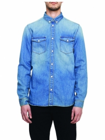 WESC Maccoy Jeans Hemd (washed out)