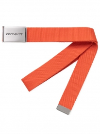 Carhartt WIP Clip Chrome Gürtel (pepper)