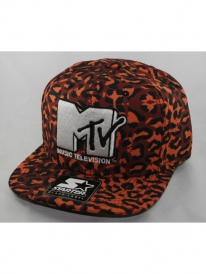 Starter MTV Leopard Cap (brown/white)