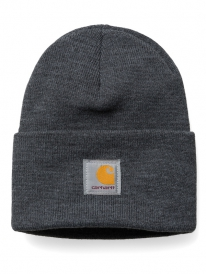 Carhartt Acrylic Watch Hat Beanie (dark grey heather)