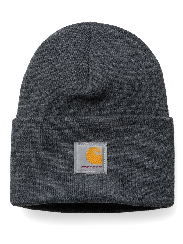 Carhartt WIP Acrylic Watch Hat Beanie (dark grey heather)