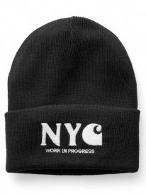 Carhartt NYC Beanie (black/white)