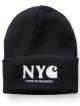 Carhartt WIP NYC Beanie (jet/white)