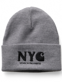 Carhartt WIP NYC Beanie (grey heather/black)
