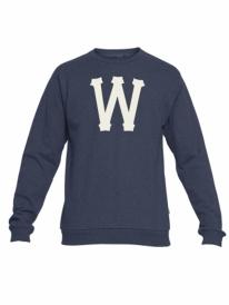 WESC Homerun Sweater (mood indigo melange)