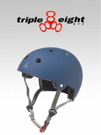 Triple Eight Brainsaver Helm navy (versch. Größen)