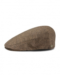 Brixton Hooligan Schieber (brown/khaki herringbone)