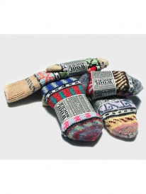 Revolution 9044 Knit Socks handmade/homemade (multi)