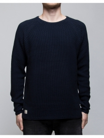 Revolution 6261 Knit Pattern Strick Sweater (navy)