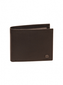 Reell Button Leather Wallet (brown)