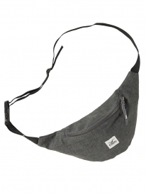 Cleptomanicx Hemp Hipbag (heather dark gray)