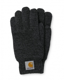 Carhartt WIP Scott Gloves (dark grey heather/black)