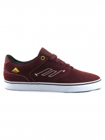 Emerica The Reynolds Low Vulc (burgundy/white)