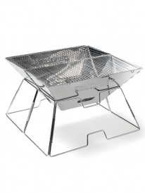 Carhartt WIP Portable BBQ Grill (steel silver)