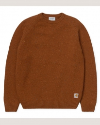 Carhartt WIP Anglistic Strick Sweater (brandy heather)