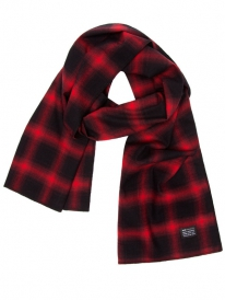 HUF Shadowplaid Schal (red)