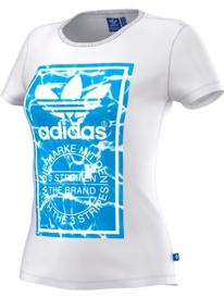 Adidas Logo Label T-Shirt (white)