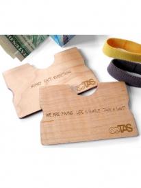 TAS Geld Clip Wallet (Ahorn)