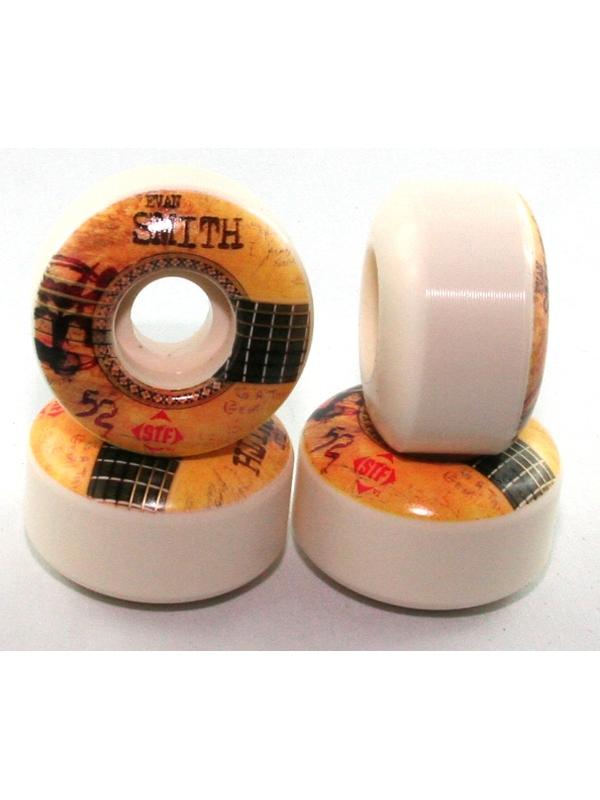 Bones Wheels STF Smith Strummer V1 Rollen 52mm (white) 4er Satz