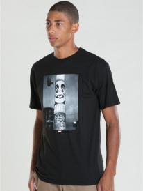 Obey Poster Pole Photo T-Shirt (black)