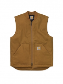 Carhartt WIP Vest (hamilton brown rigid)