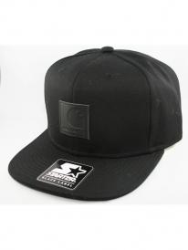 Carhartt Logo Starter Cap (black/black)