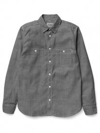 Carhartt WIP Clink Hemd (black rinsed)