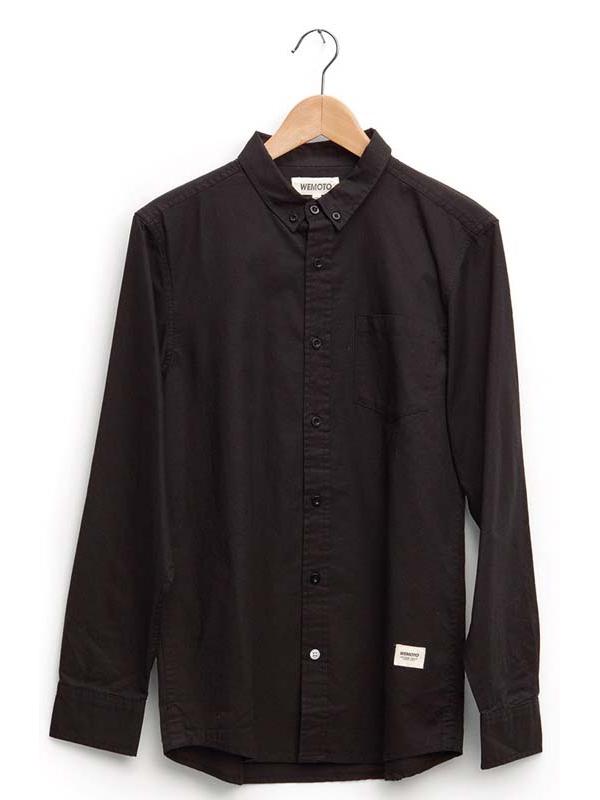 Wemoto Friday Hemd (black)