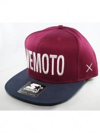 Wemoto Billboard Starter Cap (burgundy/navy)