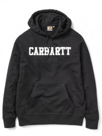Carhartt WIP College Hoodie (black/white)