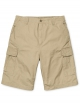 Carhartt WIP Cargo Short (leather rinsed)