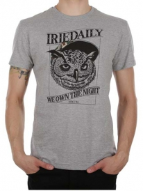 Iriedaily Own The Night T-Shirt (grey melange)
