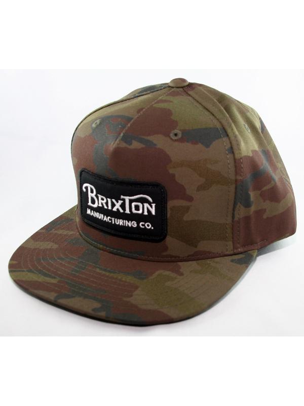 Brixton Grade Cap (black/camo)