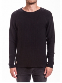 Revolution 6261 Knit Pattern Strick Sweater (black)